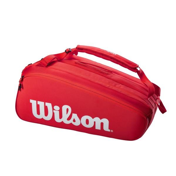 Wilson Super Tour red 15er Bag